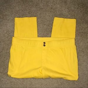 Hue Yellow Capris